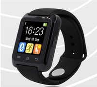 Wholesale Bluetooth Smartwatch U80 U Smart Watch for iPhone Plus S Samsung S6 Note HTC Android Phone Smartphones Android Wear