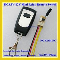 Wholesale DC V V V V V V V Micro Door Access Control System Mini Small Volume Wireless Electric Control Lock Button Wireless