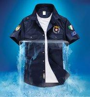 air force tshirt - summer New style Fashion aeronautica militare brand mens shirts air force one short sleeve army tshirt embroidered air force clothing