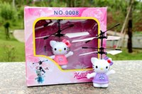 Wholesale Hellokitty cat induction levitation infrared band USB light induction creative toys