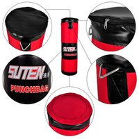 Wholesale SUTEN cm Red Boxing Oxford Empty Sandbag Training Sanda Fighting Self administered Lining Haning Boxing Bag
