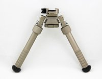 Wholesale ACI B T Industries BT10 LW17 V8 Atlas Bipod QD Tactical inch Adjustable with quick release Dark Earth