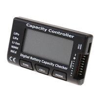 airplane alarm clock - High Quality RC CellMeter Digital Battery Capacity Checker LiPo LiFe Li ion NiMH Nicd battery shoe battery digital alarm clock