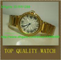 ball sports watches - Luxury Male Yellow Stainless Steel Watches Ball Golden woMens Brand Fashion Sytyle Quartz Wristwatch Modern Dress Ladies Sport Watch