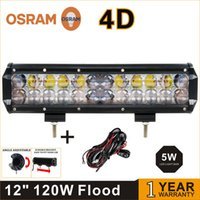 atv ramps - Offroad ramp lamp W OSRAM D LED LIGHT BAR V OFF ROAD LED WORK LIGHT BAR FOR JEEP SUV ATV DRIVING