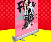 aluminium board signs - 60 cm aluminium poster holder portable display stand indoor POP promotion banner sign portrait poster display rack stand