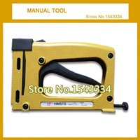 Wholesale Manual stapler manual nailer HM515 FRAME TACKER with staples