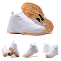 baketball shoes - Easter Days Hot Sale Gift Mens White Baketball Shoes ZOOM KOBE ZK6 Sports Sneaker High top Training Shoes EUR40 Fast Shipping