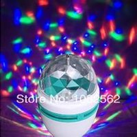 Wholesale LED Electronic KTV light Disco rgb full color rotating lamp LED disco wedding party light