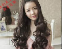 Wholesale Europe and the United States women s wig high temperature silk fashion long curly hair