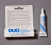 Wholesale FreeShipping PC NEW DUO WATER PROOF EYELASH ADHESIVE EYELASH GLUE CLEAR g eyelash adhesive glue