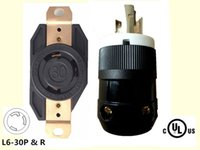 Wholesale GENERATOR Power Locking L6 PLUG RECEPTACLE SOCKET P3W A V Heavy Duty