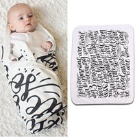 baby blankets wraps - 2016 pieces Toddler Kids Newborn Baby Blanket Swaddle Sleeping Bag Sleepsack Stroller Wrap