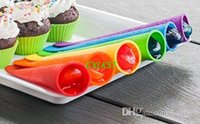 Cheap Silicone DIY Ice Cream Mould Jelly Lolly Pop Maker Popsicle Mold Brand New Good Quality Free Shipping