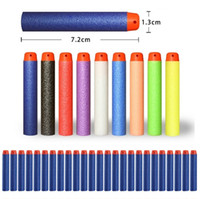 Wholesale 1000pcs Outdoor Play Nerf N strike Elite Rampage Retaliator Series Blasters Refill Clip Darts electric toy gun soft nerf bullet