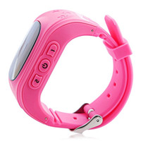 Wholesale HQ Anti Lost GPS Tracker Watch For Kids SOS Emergency GSM Smart Mobile Phone App For IOS Android Smartwatch Wristband Alarm