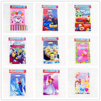Wholesale 26 cm Loot Bag for Kids Birthday festival Party Decoration cartoon mickey average minnie Theme Party Supplies Candy Bag Shopping Gift Bag