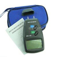 Wholesale New Digital LCD Pin Wood Moisture Humidity Damp Meter Detector Tester Y102