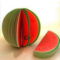 Wholesale Stylish Watermelon Scrap Paper Water Melon Memo