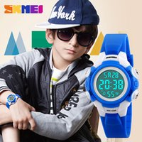 Wholesale Spot electronic watch student multi color suitable for to year old boy and girl wearing two color optional