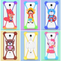 best cell phone case - Cartoon case Universal Cell Phone Case Silicone case Common Border for all inch cell phone Best Gift