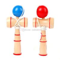 Wholesale Kids Kendama Ball Japanese Health Traditional Wood Game Balance Skill Toy A00148 BARD