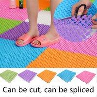 bathroom rubber mats - DIY carpet cm Candy Colors Plastic Bath Mats Easy Bathroom Massage Carpet Shower Room Rubber Non slip Mat Tapis