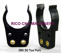 Wholesale DIN30 Black ISO Plastic Tool Holder Grippers for ATC HSD Spindle