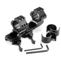 Wholesale 1inch mm Quick Release Cantilever Weaver Forward Reach Dual Ring Rifle Scope Mount