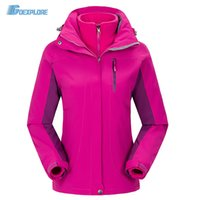 Wholesale winter jacket women thickening coat hooded plus size outwear casual waterproof windproof double layer snow overcoat