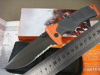 folding saw - Top quality OEM mm GB bear Folding Survival Saw Blade Knife with Nylon Sheath and retail box