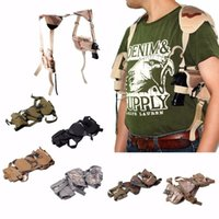 Wholesale Outdoor Hand Gun Pouch Tactical Cross Draw Pistol Pouch Hand Gun Shoulder Holster Pouch