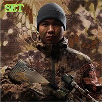 Wholesale Chiefs Hunting Clothing Tactical Python pattern Camouflage Set Coats Pants Caps Outdoor Hunting Camping Shooter Suit DHL FREE