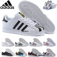 Wholesale Adidas Superstar Originals New Women Men Shoe Superstars Casual Shoes Camouflage Super Star Sneakers Cheap Size