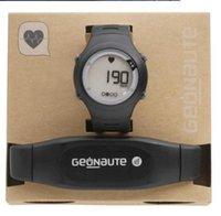 acrylic chest - Decathlon Heart Rate digital watch GEONAUTE Running Sports Exercise watch with chest strap Electronic wrist watch Waterproof shockproof
