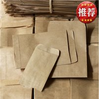 agriculture bag - 100pcs Gardening Products Cowhide Paper Seed Bags Kraft Paper Bags Kraft Bags of Seed Storage Bags for Agriculture Seeds