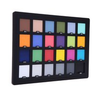 balance correction - Professional Color Card Test Color Balancing Card Palette Board for Superior Digital Color Correction Photography Accessories