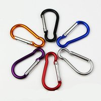 best rock climbing - Colorful Aluminium Carabiner Durable Climbing Hook Aluminum Camping Accessory Fit for Outdoor Sports Top Quality Best Price