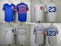 athletic sh - 2016 MLB Chicago Cubs DAWSON Baseball Jerseys discount Cheap mens Athletic Outdoor SANTO SCHWARBER Stitched Free Drop Sh
