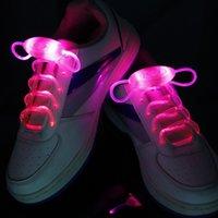 Cheap Wholesale-Party Skating Charming LED Flash Light Up Glow Shoelaces Shoe Laces Shoestrings