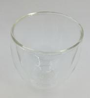 Wholesale 200ML Handmade Double Layer Glass Tea Cup Coffee Cup Pyrex Glass Heatproof Glass CupFashion Design Glass Water Cup Pyrex Glass Cup