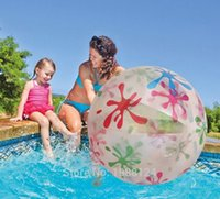 adults swim games - CM Inflatable Toys Beach Ball Swimming Pool Play Party Beach Game Beach Toy For Adults Water Fun PiscinaDe Bolinhas Brinquedo
