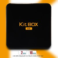 android media streamer - Android Smart TV BOX K6 RK3229 Quad Core K OTT G G Stream Sports Media Set top Box Streamer Kodi Fully Loaded Smart TV BOX