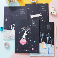Wholesale quot Twinkle Star quot Pack of Lined Notebook Diary Study Planner B5 K Exercise Book Workbook Composition Book Journal Big Notepad Gift