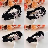 Wholesale Korean Version Of The New Fashion Headdress Han Fashion Star Butterfly Full Diamond Hairband S154