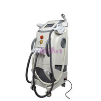 Wholesale New Vertical in1 Elight IPL Laser Hair Removal Skin Rejuvenation Radio Frequency RF Yag Laser Tattoo removal machine wrinkle acne remover