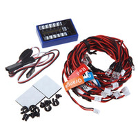 electric car kit - No Solder LED Flashing Light Realistic Highlight Kit for RC Car Truck