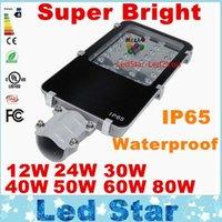 ac applications - High Lumen12W W W W W W W Led Street Light Bridgelux Chip IP65 Application Outdoor Lighting External Meanwell Driver