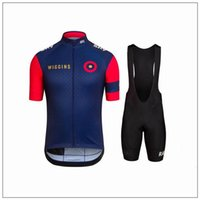 Wholesale Wholesaler Sky New Cycling Jersey High Quality Cycling Shirts Bib Shorts with D Padded Bike Suits Bicycle Kits