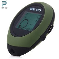 army tracker - Keychain Design Handheld GPS Tracker with POI Compass for Outdoor Travel Auto Tracker Person Tracking Device ARMY GREEN